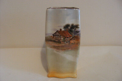 Vintage Royal Doulton Small Vase - Cottage Series Ware 1920s 7350 - tiny chip