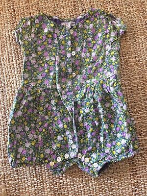Daisy & Moose Baby Romper Floral Size 18-24mths