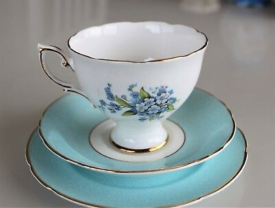 Royal Standard cup, saucer and side plate.