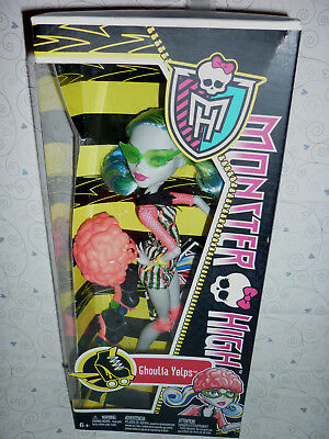 """Monster High """"Skultimate, Roller Maze"""" Ghoulia Yelps Doll NEW/NIB"""