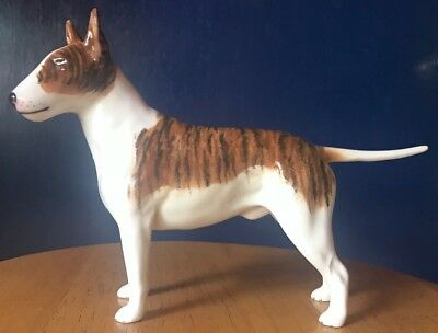 Beswick Brindle Bull Terrier 970 large Dog