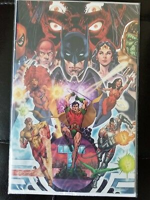 The New Teen Titans #1 - Virgin Cover by Phil Jimenez W/patch FUNKO