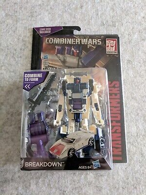 Transformers Combiner Wars Deluxe Figure Decepticon Breakdown
