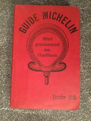 Guide Michelin France 1901