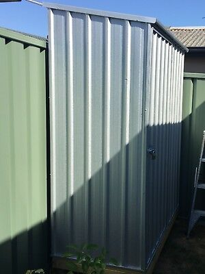 'As new' GardenPro Masterstore Steel Garden Shed 1.52mW X 0.78mD X 1.95mH
