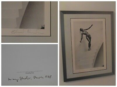 Helmut Newton -In my Studio- original PhotoLitho Special Collection-handsigniert