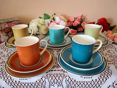 SUSIE COOPER Trios GAY STRIPES Cup Saucer Plate 5 available - choose drop down