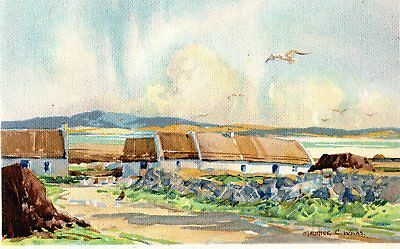 Cottages In Donegal. - Postcard. - Unposted.