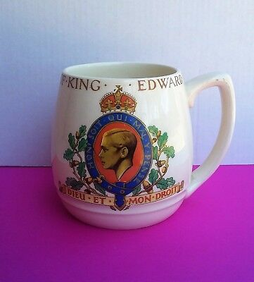 Vintage Royal Memorabilia Cup - King Edward VIII Coronation  Fabulous