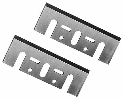 POWERTEC 128350 3-1/4-Inch Carbide Planer Blades for Makita, N1900, Set 0f 2