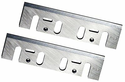POWERTEC 128361 4-3/8-Inch HSS Planer Blades for Makita 1912B, Set of 2