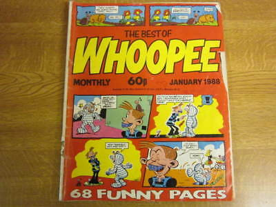 January 1988, THE BEST OF WHOOPEE, Sweeny Toddler, Paddy Wack, Robot Granny.