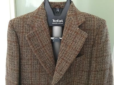 Vintage retro Harris Tweed sports jacket - size 36S - classic gents jacket!