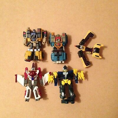 Transformers Mixed Lot X 5 – Energon – Cybertron – Buzzsaw