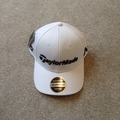TaylorMade Tour Authentic White Fitted Cap