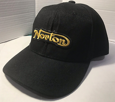 Norton Baseball cap motorbike Embroidered Patch Vintage