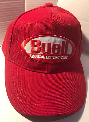 Buell Baseball cap motorbike motorcycle Embroidered Patch Vintage