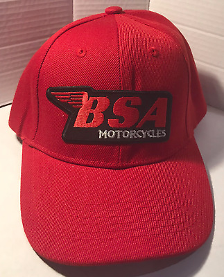 BSA Baseball cap motorbike motorcycle Embroidered Patch Vintage