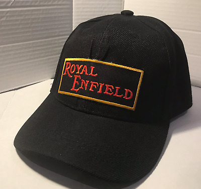 Royal Enfield  Baseball cap motorbike motorcycle Embroidered Patch
