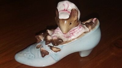 Beswick. Beatrix Potter. The Old Woman Who Lived In A Shoe Figure.1959.
