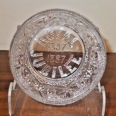 Queen Victoria. Jubilee glass bowl. From 1887.