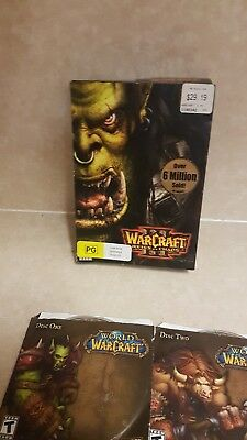 WarCraft III: Reign of Chaos + other worlds of warcraft (PC: Mac and PC/ Windows