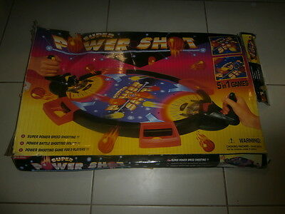 Vintage Super Power Shot 5 in 1 Game comes in Original Box