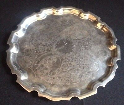 A Superb Pinder Bros. Ltd. Silver Plated Salver / Tray
