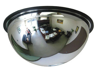 Quarter / Full Dome Convex Acrylic Security Mirror - 90° / 360° Display
