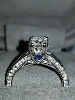 Vera Wang Diamond Ring Princess Cut
