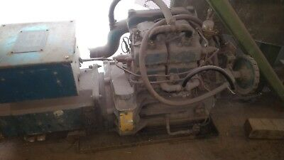 Compact water cooled diesel generator