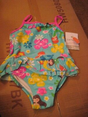 CARTER'S   Girls Size  18 MONTHS   MERMAID   Swimming Suit     NWT