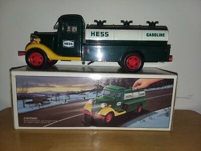 1985 First Hess Toy Truck Bank/Red Switch