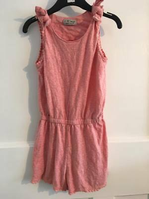 Lovely Girls NEXT Baby Pink Jumpsuit - 4 Years
