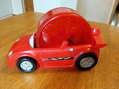 Dwarf Hamster Gerbil  Car Wheel. Red. Exercise Wheel.  Used but good condition.