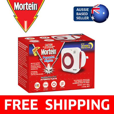 Mortein Peaceful Nights Plug In Repeller | Mosquito & Fly