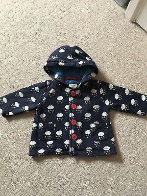 Frugi Benji Rainy days Jacket 3-6 EUC