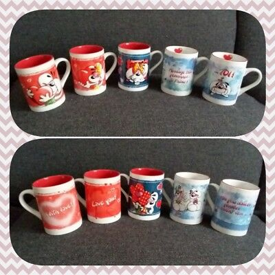 Mugs Tasses Love Amour Coeur Diddl Diddlina TBE AUX CHOIX