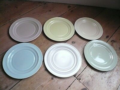 Branksome China Side Plates x 6 Art Deco