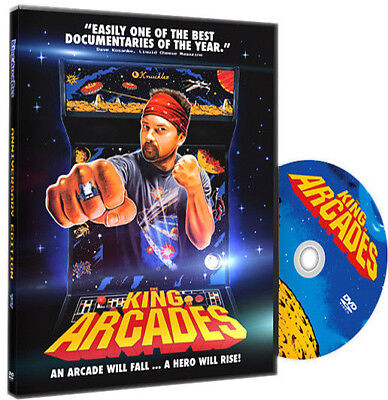 THE KING OF ARCADES: ANNIVERSARY EDITION DVD + Extras NEW! Billy Mitchell, Wiebe