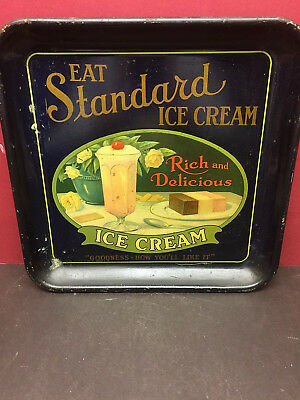 Old Ice Cream Serving tray dated 1922