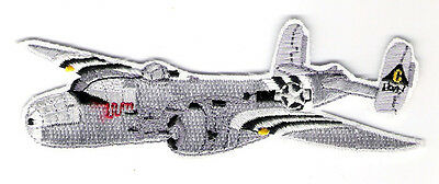 B25 BOMBER Airplane Aircraft Aviation Collectable Military Embroidered Patch