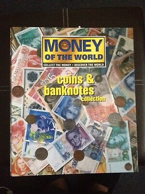 Money Of The World - Collection Binder and some notes and coins