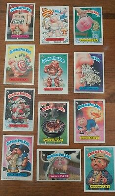 1987 Garbage Pail Kids Original Series 7 Lot of 25 Different Cards =50¢ per card