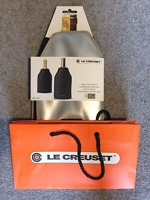 Le Creuset Wine Cooler Sleeve New with labels and bag