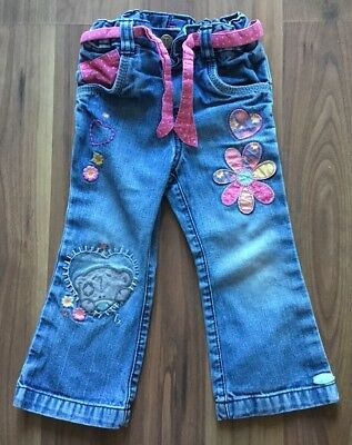 Girls/Toddlers Tatty Teddy Bootcut Jeans By M&S 18-24 Months
