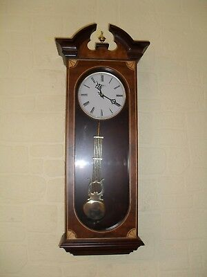 Extremely Attractive Westminster Chime Vienna Type Wall Clock.
