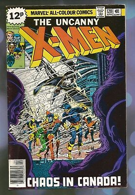 MARVEL X Men - Issue 120 - April 1979 - nice condition copy