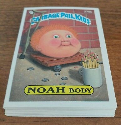 1987 Garbage Pail Kids Original Series 7 Lot of 17 Different Cards =50¢ per card
