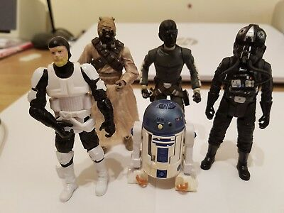 Star Wars small Lot of action figures from 2002- 2008 by Hasbro